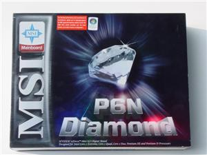 MSI P6N Diamond Box