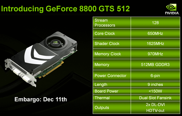 Nvidia Geforce 8800 Gts Refresh Asus And Xfx Hothardware