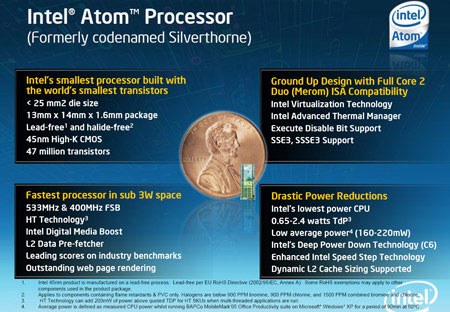 Intel's Ultra-Portable Atom: Unveiled - Page 2 | HotHardware