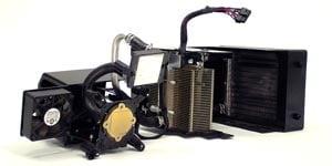 Dell XPS H2C cooling system back