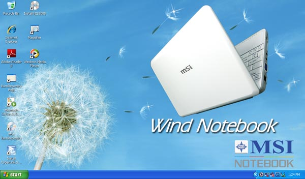 MSI Wind U100 Desktop