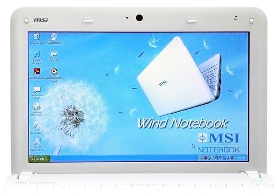 MSI Wind U100 screen