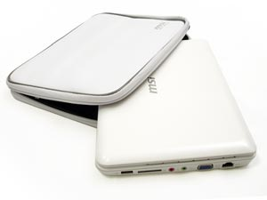 MSI Wind notebook sleeve