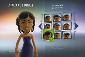 how to change hairstylles avatar xbox