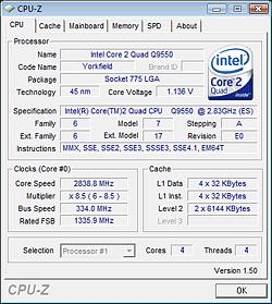 Intel Core 2 Quad Q8200S and Q9550S 65W CPUs - Page 2