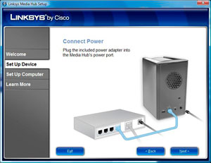 Linksys by Cisco Media Hub - Page 3 | HotHardware