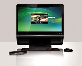 lenovo ideacentre a600 all in one pc review hothardware
