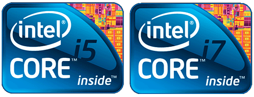 Intel Processors Logo Intel Core i5 Processor on The