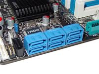 Right-angled SATA ports