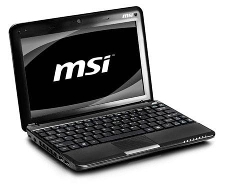 msi wind u135 netbook review hothardware rh hothardware com MSI U100 Netbook Fan MSI Wind U-160
