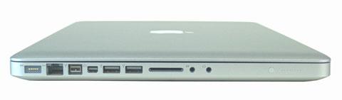 small MacBook Pro left side view Những điều cần biết về Macbook Pro