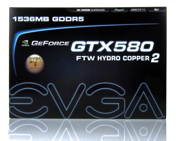 EVGA GeForce GTX 580 FTW Hydro Copper 2