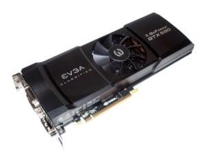 The EVGA Classified GeForce GTX 590