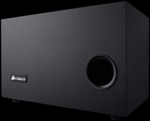 corsair sp2500 2 1 speaker system and hs1a headset page. Black Bedroom Furniture Sets. Home Design Ideas