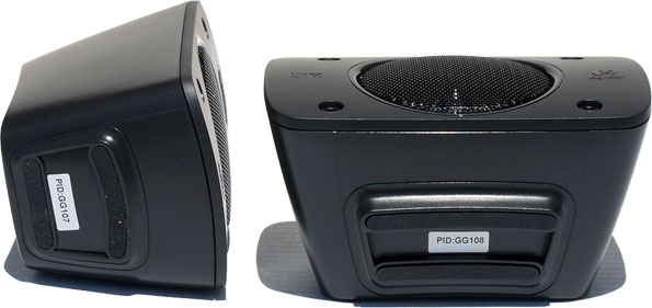 we mentioned that the z906 speaker system would fit right in with an entertainment center and towards that end logitech ditched metallic speaker stands in amazoncom logitech z906 surround sound speakers
