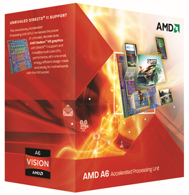 a6 vision amd quad core and radeon dual graphics