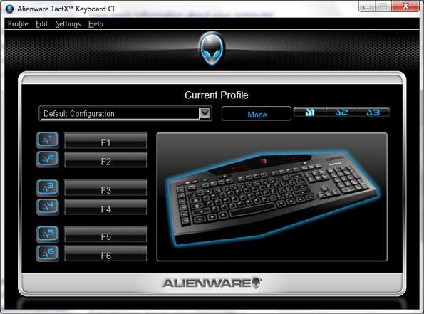 Alienware Tactx Keyboard Drivers
