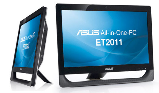 asus 20 et2011aukb b006e all in one pc review hothardware. Black Bedroom Furniture Sets. Home Design Ideas