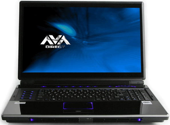 AVADirect Clevo P180HM Gaming Notebook Review | HotHardware