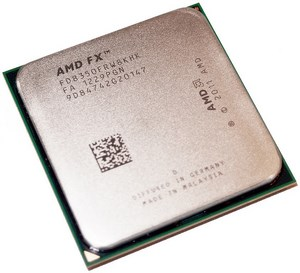 AMD FX-8350 8-Core CPU: Top and Bottom