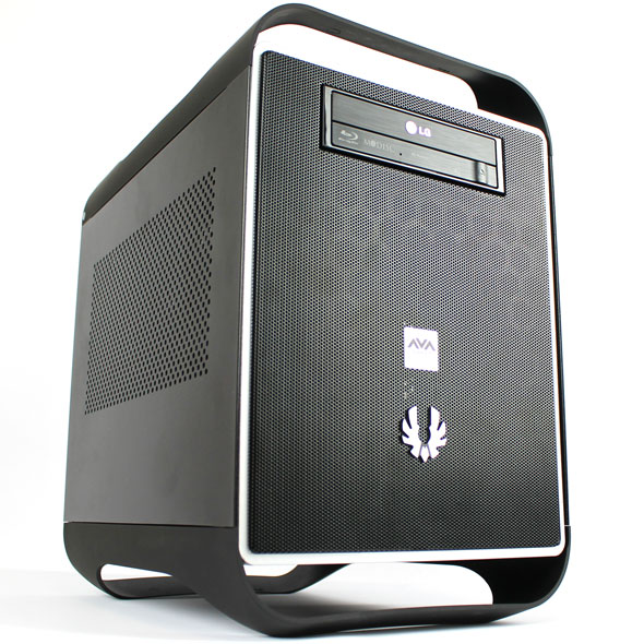 avadirect mini gaming pc titan in a small package. Black Bedroom Furniture Sets. Home Design Ideas