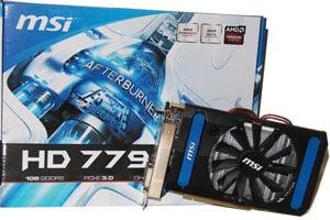 Box for MSI Radeon HD 7790