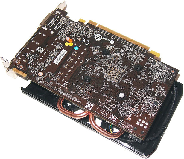 PCB Side Of The MSI Radeon HD 7790