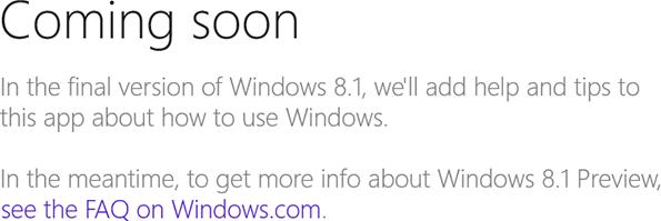 Windows 8.1 - Help & Tips