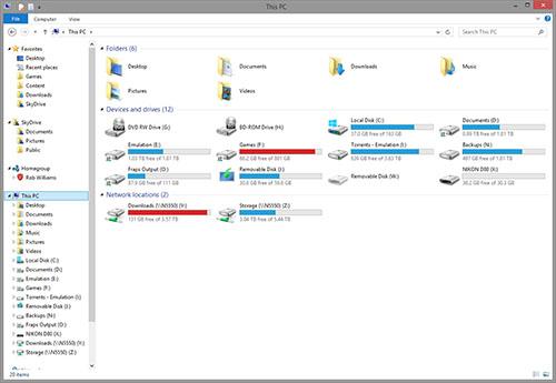 Windows 8.1 - This PC