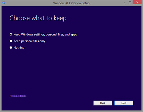 Windows 8.1 - Upgrading to 8.1