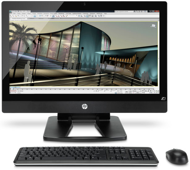 HP Z1 27-inch AIO Workstation Review - Page 8 | HotHardware