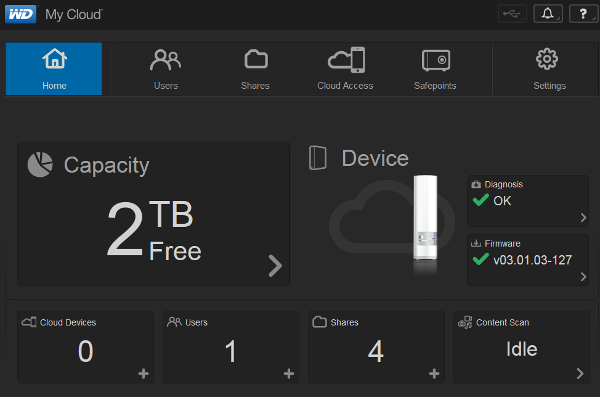 My Cloud Dashboard Download