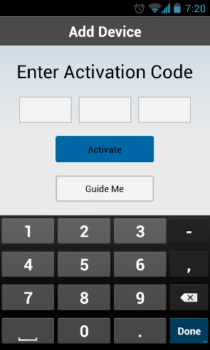 how do i get activation code for wd my cloud