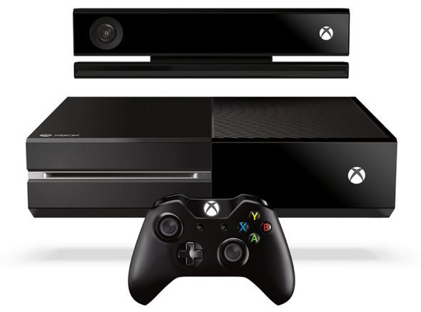 Xbox One with Kinect Sensor and Wireless Controller