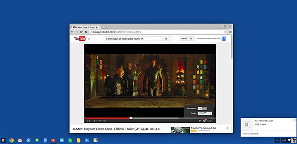 X-Men: Days of Future Past 4K Ultra-HD Video Trailer  screen shot