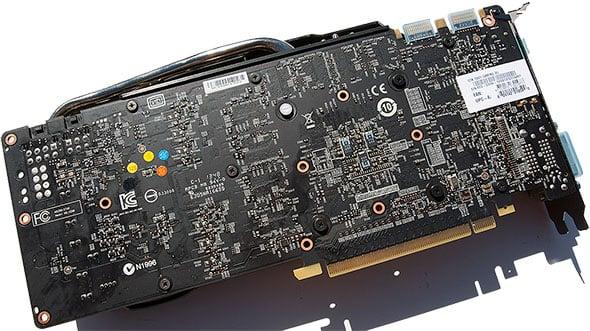 MSI GeForce GTX 780 Ti Back