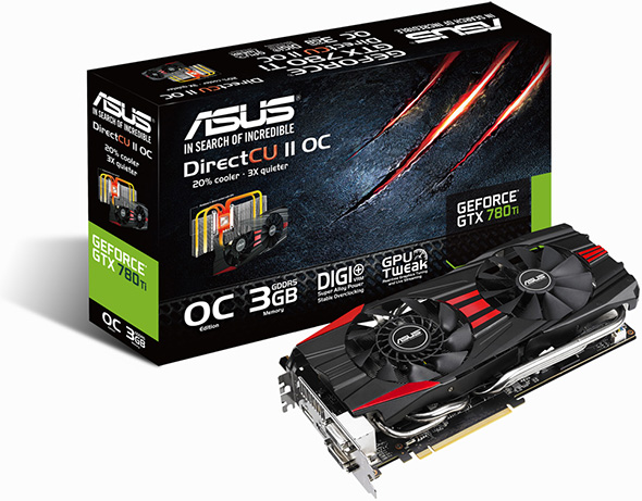 Asus GeForce GTX 780 Ti Box Stock