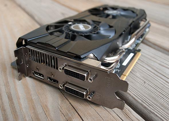 ASUS GeForce GTX 780 Ti DirectCU II Ports