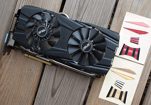 Asus GeForce GTX 780 Ti DirectCU II with Stickers