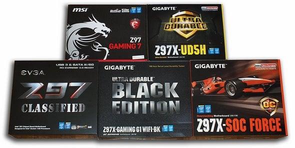 Z97 Motherboard Round Up: EVGA, MSI, Gigabyte | HotHardware