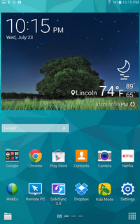 Samsung Galaxy Tab S Review, Top Shelf Android - Page 3