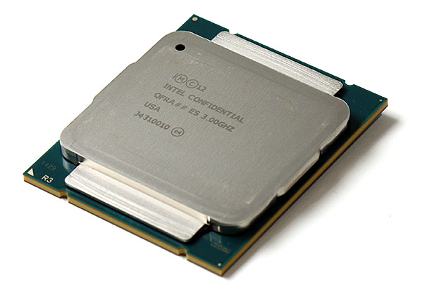 Core-i7 Haswell-E Engineering Sample