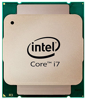 Core-i7 Haswell-E Top View