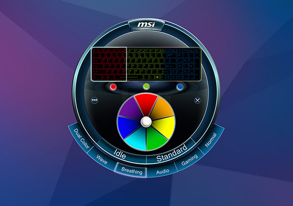 MSI LED Control
