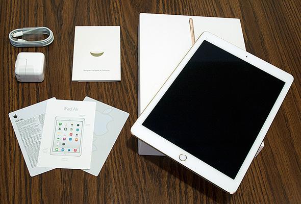 Apple iPad Air 2 Contents