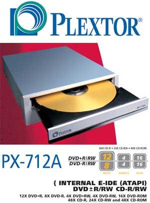 Plextor dvdr px 708a