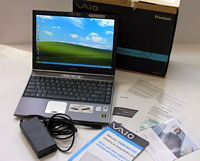 Sony SZ150 Thin And Light Notebook w/ GeForce Go 7400