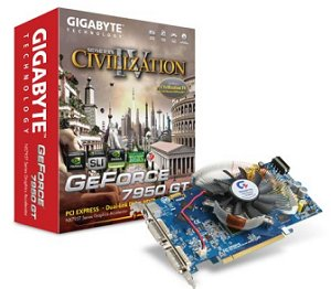 Gigabyte GeForce 7950 GT Features Specs
