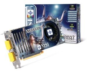 MSI NX8800GTX WINDOWS VISTA DRIVER DOWNLOAD