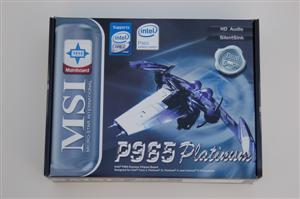MSI P965 Platinum Box Front